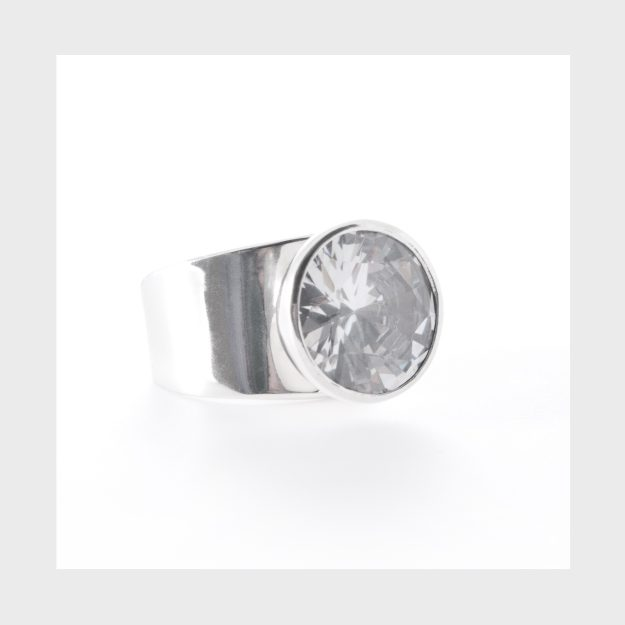 Sterling Silver Bling Ring