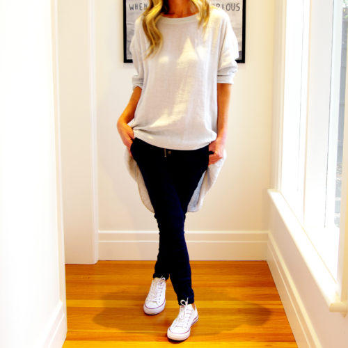 Our Charlie Linen Top with Jersey Shoulder Panel. Shown here, in 100% linen, Jersey shoulder, and comfy side pockets. Available in six summer season colours. Black, White, Navy, Mocha, Blush Pink & Pale Blue. Great to throw on over your jeans. In short, Charlie is the perfect gift for someone special. Or the ideal self-indulgent addition to your wardrobe.