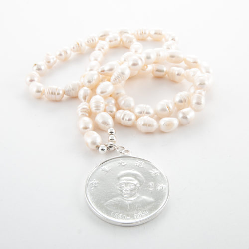 32-Inch freshwater pearl necklace