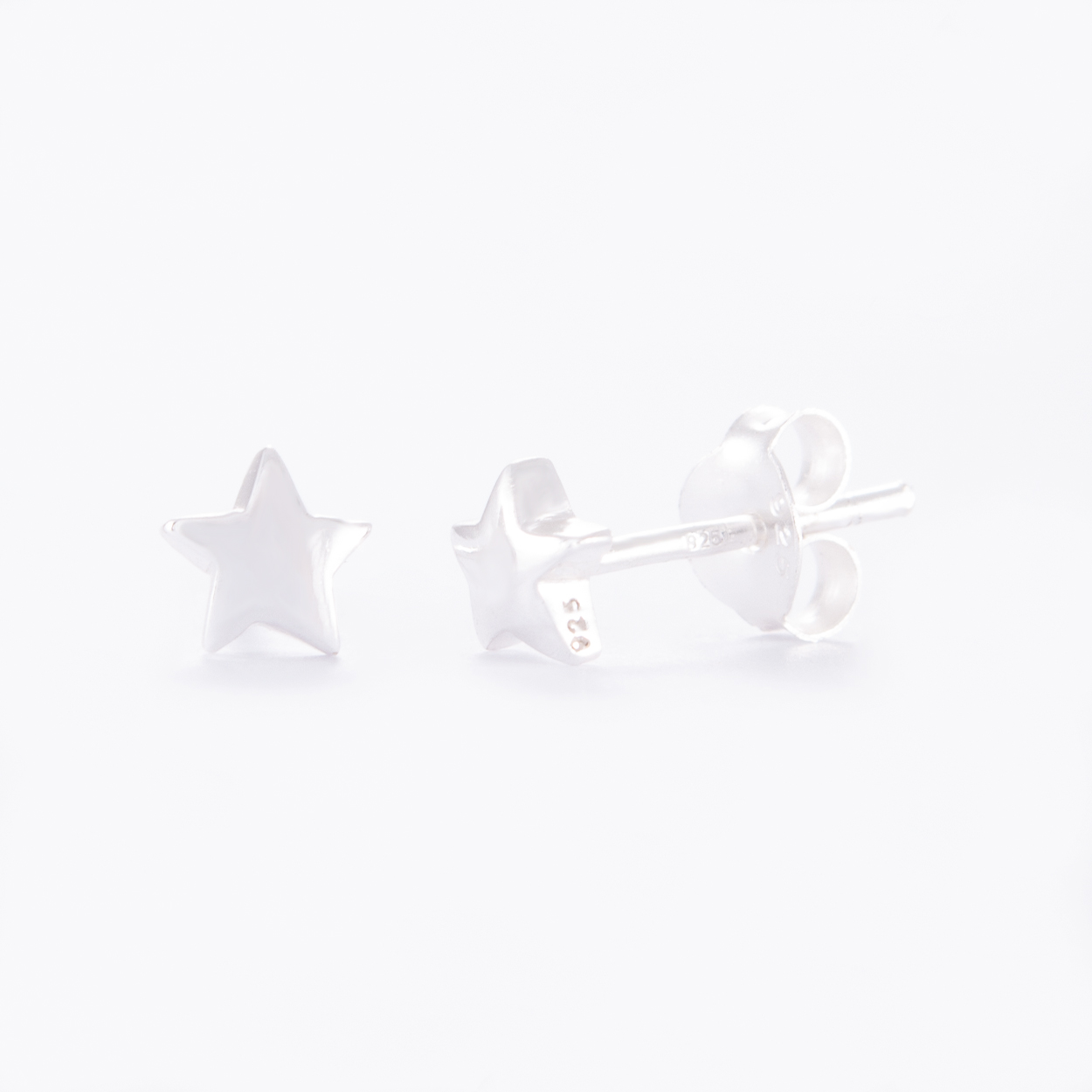 Sterling-Silver-Star-Stud-Earrings