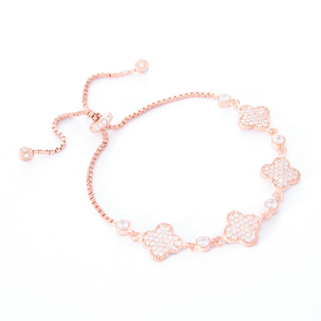 Rose Gold Lucky Adjustable Bracelet