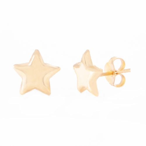 Our 5mm Gold Sterling Silver Star Stud Earrings. Shown here, beautifully plated over 925 sterling silver. In short, there's a lot of love in this little pair of gems! The ideal self-indulgent purchase to add to your own collection. Or as the perfect petite gift for someone extra special.