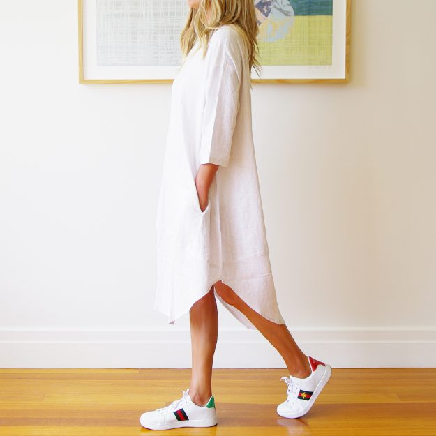 Willow Linen Dress